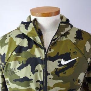 Nike Sportswear Hooded Camo Jacket Mens Size M NWD